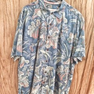 Tommy Bahama silk Shirt (A-4)